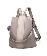 Women Backpack Purse Waterproof Nylon Anti-theft Rucksack Lightweight Sh... - $34.82