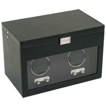 WOLF Heritage Double Watch Winder with Storage 270402 Free US Shipping - $449.00