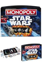 Star Wars Monopoly Edition Game Classic Board Collectors - $34.93