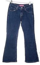 Levis Blue Jean Denim Flare Leg Jeans Sz 3 - $28.49