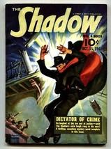 Shadow 1941 Oct 15-high grade- Street And SMITH-RARE Pulp Vf - $357.69