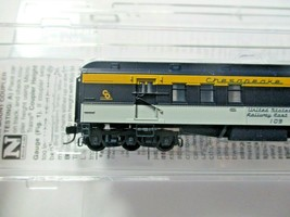 Micro-Trains #14000410 Chesapeake & Ohio Heavyweight RPO Passenger Car N-Scale image 2
