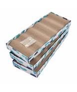 Cat Scratcher Cardboard Reversible Cat Scratching Pad Kitty Corrugated S... - $85.37
