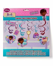 Doc McStuffins Birthday Party Foil Swirl Decorations (12 Pieces) - $13.09
