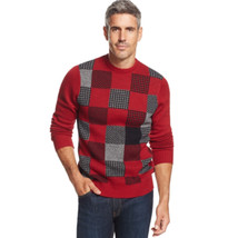 Geoffrey Beene NEW Men's LARGE Cotton Crew Neck Pullover Sweater color b... - $18.76