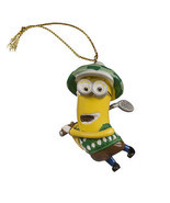 Universal Studios Exclusive Despicable Me Minion Golfer Ornament New - £18.64 GBP