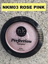 NICKA K NEW YORK PERFECTION HIGHLITER COLOR: NKM03 ROSE PINK - $2.76