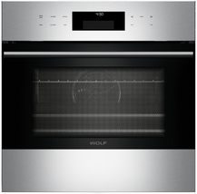 """Wolf SO24TESTH E Series 24"""" Single E-Series Convection Wall Oven Stainle... - $2,003.71"""