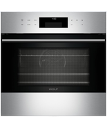 "Wolf SO24TESTH E Series 24"" Single E-Series Convection Wall Oven Stainle... - $2,003.71"