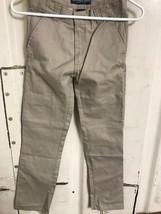 U.S. Polo Assn. Boys Twill Pant, Khaki, Size 12 - $9.74