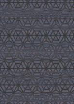 Symphony Area Rug (5'2'' X 7'6'') Design 27009 Anthracite Grey Blue Trel... - $69.00