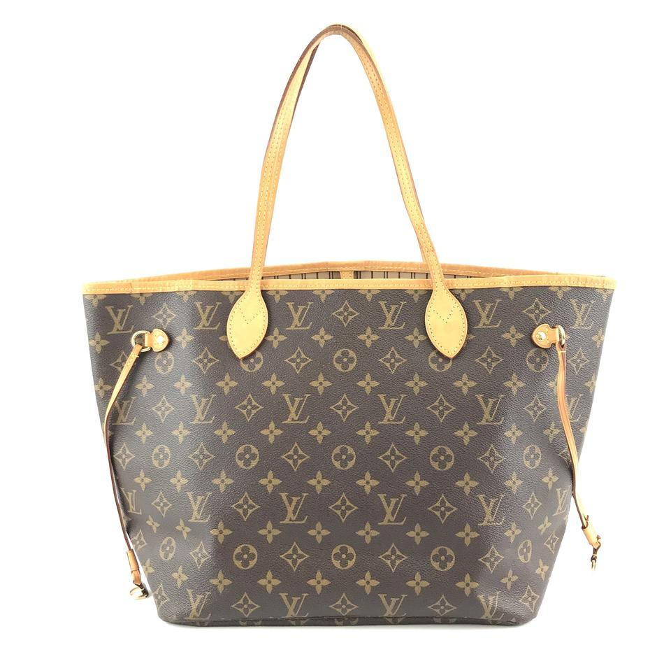 #33306 Louis Vuitton Neverfull Neo New Model Mm Tote Everyday Work Shoulder Bag