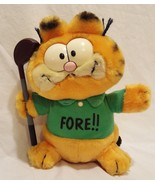 "Garfield Golf Club Fore Plush Stuffed Animal 9"" No 118 - $32.23"