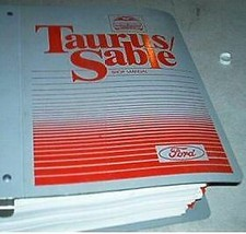 1987 FORD TAURUS & Mercury Sable Workshop Service Shop Repair Manual Binder - $16.83