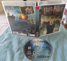 Harry Potter and the Order of the Phoenix game disc w/case PS3 playstati... - $22.52