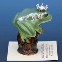Birthstone Tree Frog Prince April Diamond Miniatures by Hagen-Renaker image 2