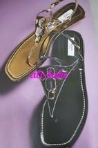 Prada jewel thong sandal black 37 1/2 38NIB - $249.00
