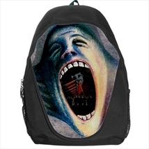 backpack screaming face the wall rock band cult school bag bookbag  - $39.79