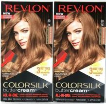 2 Revlon Luxurious Colorsilk Buttercream 80/73N Medium Natural Blonde Ha... - $20.99