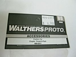 Walthers Proto # 920-2311 Cushion Car Coupler Pocket 8 - per Pack image 5
