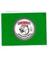 """2016 Wacky Packages Baseball Series 1 Green Border """"CINCINNATI MUSTACHE ... - $1.00"""