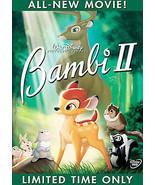 Bambi II (DVD, 2006) - $6.00