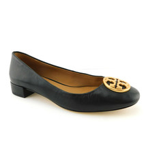 New Tory Burch Size 7 Chelsea 25mm Blavk Leather Ballet Flats Shoes - $174.00