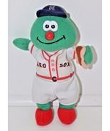 Fenway Franks Boston Red Sox MLB 1998 Plush Stuffed Animal Holding Hotdo... - $27.71