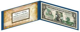 WISCONSIN State $1 Bill *Genuine Legal Tender* U.S. One-Dollar Currency ... - $8.86