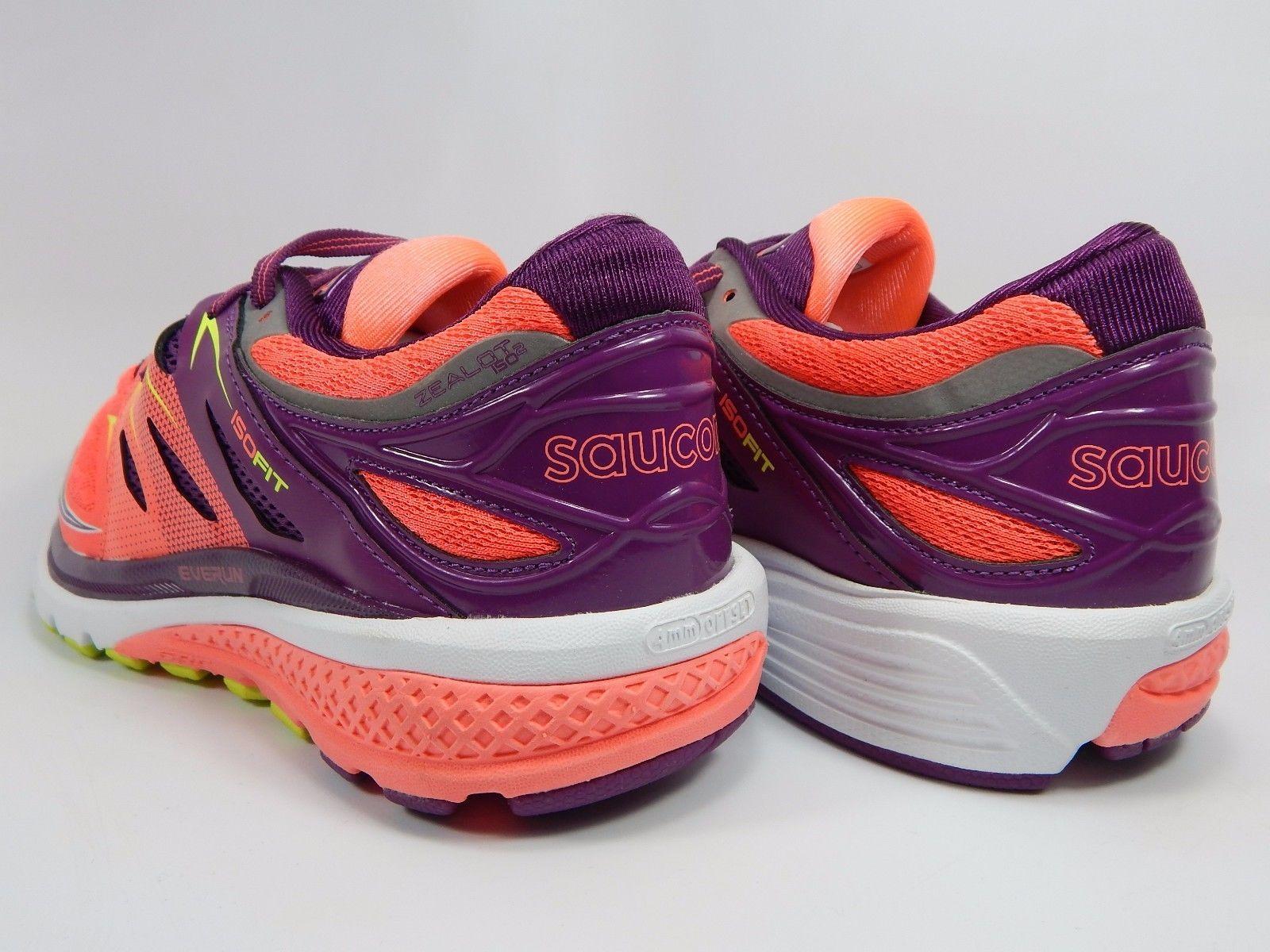 Saucony Zealot ISO 2 Women's Running Shoes Size US 8 M (B) EU 39 Pink S10314-2