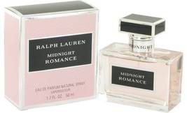 Midnight Romance Perfume  By Ralph Lauren for Women 3.4 oz Eau De... - $95.95