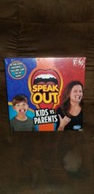 Hasbro Speak Out Kids vs Parents Game Mouthpiece Challenge Game New Fami... - $17.82
