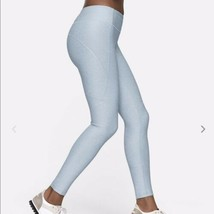 Outdoor Voices 7/8 Warmup Leggings In Blue Quartz Womens XL NEW Without ... - $49.49