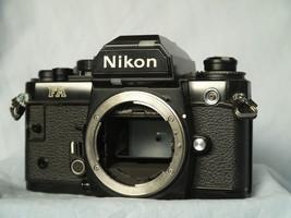 Nikon Fa Professional Black 35mm Slr Camera -TESTED - $175.00