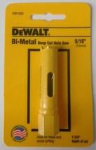 """Dewalt DW1820 9/16"""" Bi-Metal Deep Cut Hole Saw USA - $2.97"""