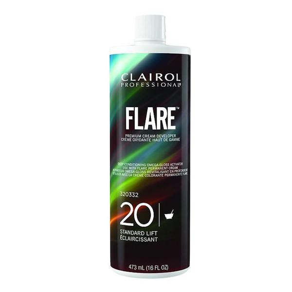 Clairol Professional Flare 20 Volume Premium Cream Developer, 16 oz