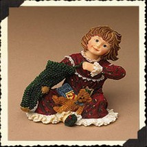 "Boyds Dollstone ""Faith.. Christmas Morning"" #3593- 1E- 2004- new - $23.99"