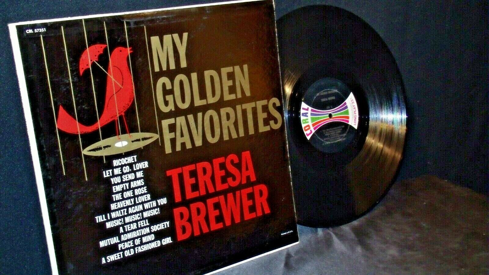 Teresa Brewer – My Golden Favorites AA20-RC2100 Vintage