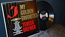 Teresa Brewer – My Golden Favorites AA20-RC2100 Vintage image 1