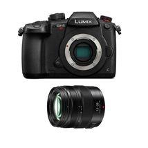 Panasonic Lumix GH5S Digital Camera Black +12-35mm F2.8 Ii Asph O.I.S Lens Black - $2,581.09
