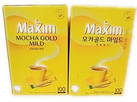 Maxim Mocha Gold Mild 100 sticks - $52.46