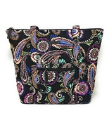 Vera Bradley Villager in Bandana Swirl with Black Interior - $67.95