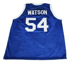 Kyle Watson #54 Tournament Shoot Out New Men Basketball Jersey Blue Any Size image 2