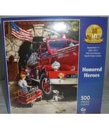 Honored Heroes September 11th 9/11 World Trade Center 10th Ann. 500 Piec... - $11.29