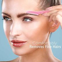 Boao 60 Pieces Eyebrow Razor Shaper Trimmer Shaver Women Facial Razor with Preci image 4