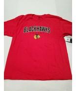 NWT Chicago Blackhawks NHL Hockey Men's Red Hanes T-Shirt XL New With Tags - $14.84