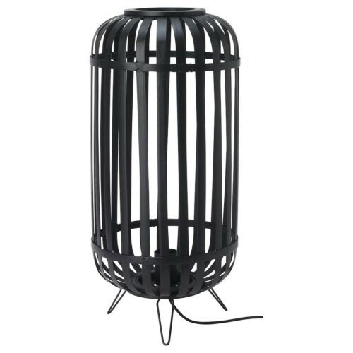 IKEA GOTTORP Table lamp, black, 9x20 ""