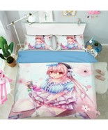 3D Sprouting Girl P33 Japan Anime Bed Pillowcases Quilt Duvet Cover Acmy - $54.57+