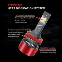 Fonday Master H11/H8/H9 LED Headlight Bulbs, Low Beam/Fog Light, 6000K Bright Wh image 5