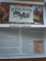 The Highway 12 Scenic Byway Route Guide Newspaper National Park Service ... - $6.99